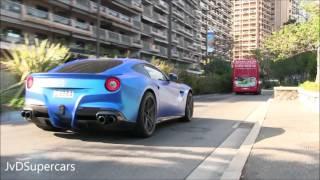 Download LOUD Ferrari F12 w/ Armytrix Titanium Straight Pipe in Monaco! Video