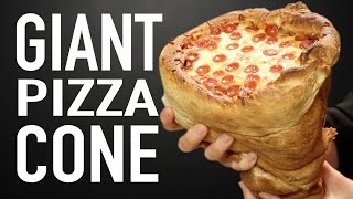 Download GIANT PIZZA CONE VS GIANT PIZZA CONE Video