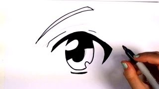 Download How to Draw an Anime Eye - Manga Eye Drawing Lesson | MLT Video