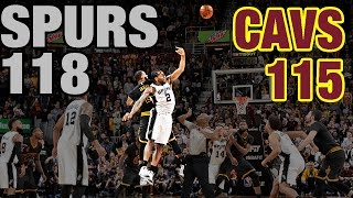 Download Crunch Time In Cleveland: Re-Live The 4th Quarter & OT In Spurs' Huge Comeback Win Video