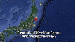 Download Alerta de tsunami en Fukushima tras un fuerte terremoto de 6.9 Video