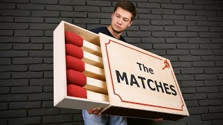 Download HANDMADE GIANT MATCHBOX THAT CAN BE USED Video