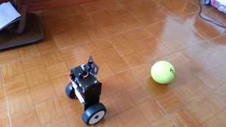 Download Raspberry Pi camera module openCV object tracking and following self balancing robot Video