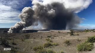 Download USGS Status Update of Kīlauea Volcano - May 16, 2018 Video