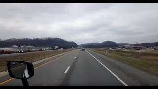 Download BigRigTravels LIVE! Mount Sterling, Kentucky to Teays Valley, West Virginia I-64 East-Jan. 14, 2019 Video