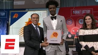 Download [FULL] 2018 NBA draft lottery: Phoenix Suns get No. 1 pick for first time ever | ESPN Video