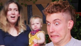 Download DON'T MAKE YOUR HAIRDRESSER ANGRY… (and my wife and baby's reaction😐) Video