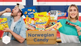 Download British People trying Norwegian Candy - This With Them Video