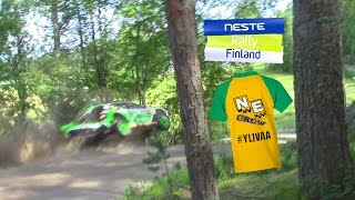 Download Neste Rally Finland 2016 | Tidemand Crash | SS24 Oittila Video