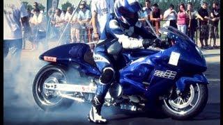 Download Suzuki Hayabusa Turbo Vs. Suzuki Hayabusa Turbo Drag Race HD Video