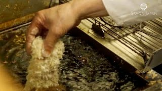 Download Learn from the master chef The skill -TONKATSU- Video