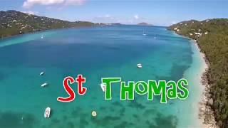 Download St Thomas - British & US Virgin Islands - Magens Bay Video