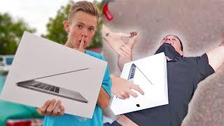 Download BUYING MY BESTFRIEND HIS DREAM COMPUTER!!! *INSANE REACTION* Video
