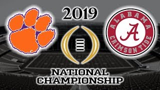 Download Clemson vs Alabama Football 2019 National Championship Game Highlights Video