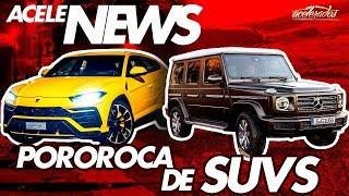 Download LAMBORGHINI URUS NO BRASIL POR QUASE R$ 2 MILHÕES + AVALANCHE DE SUVS! ACELENEWS #98 Video