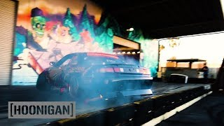 Download [HOONIGAN] DT 127: Ryan Litteral does Man-Line in his 750HP RB25 Formula Drift S14 240SX Video