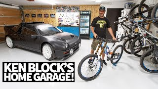 Download Ken Block's Ultimate Home Garage: Downhill Mountain Bikes, Ford RS200, and More! Video