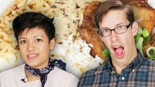 Download Americans Try Vietnamese Street Food Video