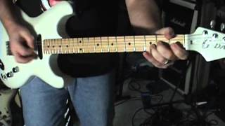 Download Anderson Custom Guitars G-Daddy 5 String Open G Tuning. Keith Richards Baby! Video