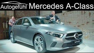 Download Mercedes A-Class REVIEW 2018/2019 all-new W177 MBUX AClass A-Klasse neu - Autogefühl Video
