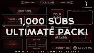Download Free Graphics: Ultimate Rebrand Template Pack #1 - Photoshop / After Effects / Cinema 4D Video