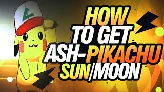 Download How To Get Ash-Pikachu In Sun and Moon! Video