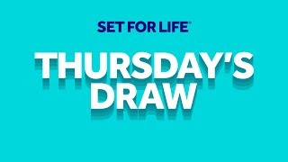 Download The National Lottery 'Set For Life' draw results from Thursday 23rd January 2020 Video
