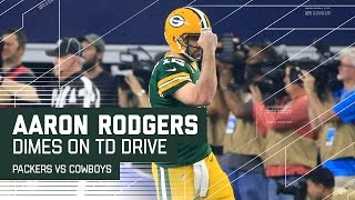 Download Rodgers Caps Flawless Drive with TD Pass to Cook! | Packers vs. Cowboys | NFL Divisional Highlights Video