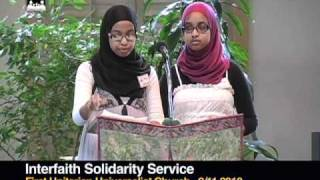 Download Interfaith Solidarity Service 9/11 2010 (1of 5) Video