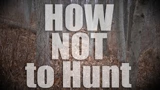 Download How Not to hunt deer from the Ground bow ninja junior Video