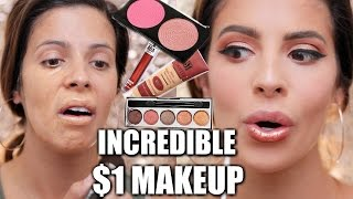 Download FULL FACE $1 MAKEUP | HIT OR MISS??? Video