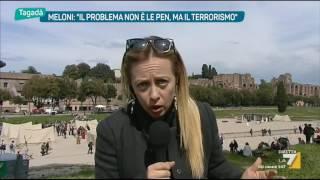 Download Giorgia Meloni: 'Accordarci con Berlusconi? Ce la faremo' Video