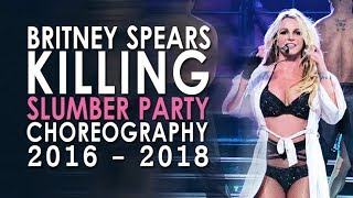 Download Britney Killing the ″Slumber Party″ Choreography (2016-2018) Video