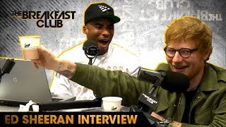 Download Ed Sheeran Goes Shot For Shot With The Breakfast Club, Raps To Nicki Minaj & More Video