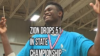 Download Zion Williamson Scores 51 In State Championship! Chandler Lindsey Catches A Body Video