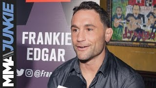 Download Frankie Edgar ready to derail the Yair Rodriguez hype at UFC 211 Video