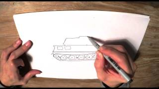 Download How to Draw a Tank Video