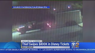 Download Trailer Containing $800K In Disneyland Tickets Stolen Video