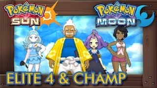 Download Pokémon Sun and Moon - Elite Four & Champion (Alola League) Video