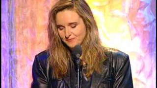Download Melissa Etheridge inducts Janis Joplin Rock and Roll Hall of Fame inductions 1995 Video