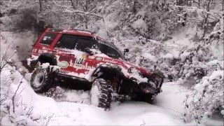 Download Land Rover Discovery TD5 **Twins//İkizler** SNOW OFFROADING Video
