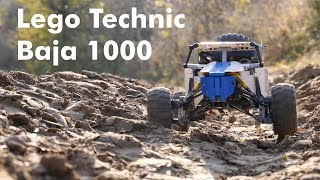 Download Lego Technic Baja 1000 - off-road racing with a mini buggy Video