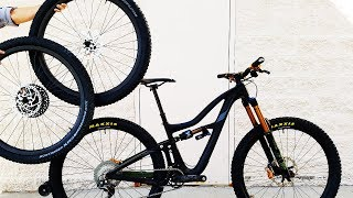 Download Ibis Ripmo Test Ride & Review w/ carbon wheels & light weight tires Video