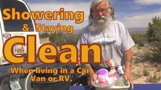 Download How to Shower and Stay CLEAN when living in a car, van or RV Video
