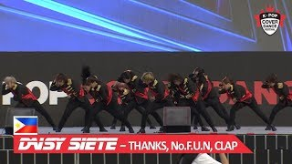 Download [PHILIPPINES] DAISY SIETE - THANKS, No.F.U.N, CLAP / 2018 K-POP COVER DANCE FESTIVAL Video