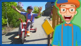 Download Blippi Playing at a Children's Museum | Colors for Toddlers Video