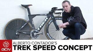 Download Alberto Contador's Trek Speed Concept Time Trial Bike Video