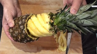 Download 4 Ways How To Cut And Serve Pineapple Video