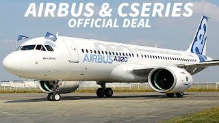 Download AIRBUS to Close CSERIES Deal on JULY 1st Video