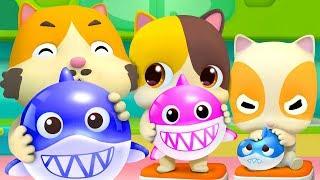 Download Balloon Song - Baby Shark | Colors Song | Nursery Rhymes | Kids Songs | Kids Cartoon | BabyBus Video